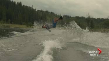 Son of water ski legend Jaret Llewellyn looks to break his dad's