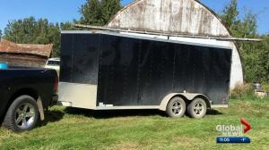 Edmonton mother pleads for return of stolen trailer