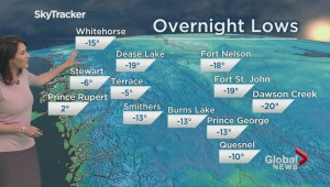BC Evening Weather Forecast: Apr 3