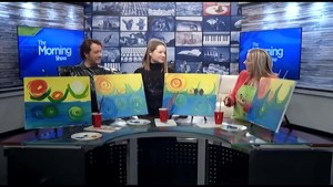 "The Morning Show features ""Paint Night"""