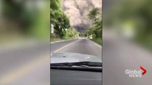 Brave Guatemalans drive towards ash cloud to help people after Fuego volcano eruption
