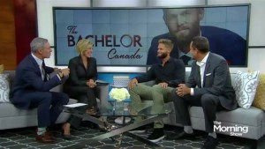 Canada's most eligible bachelor on The Morning Show