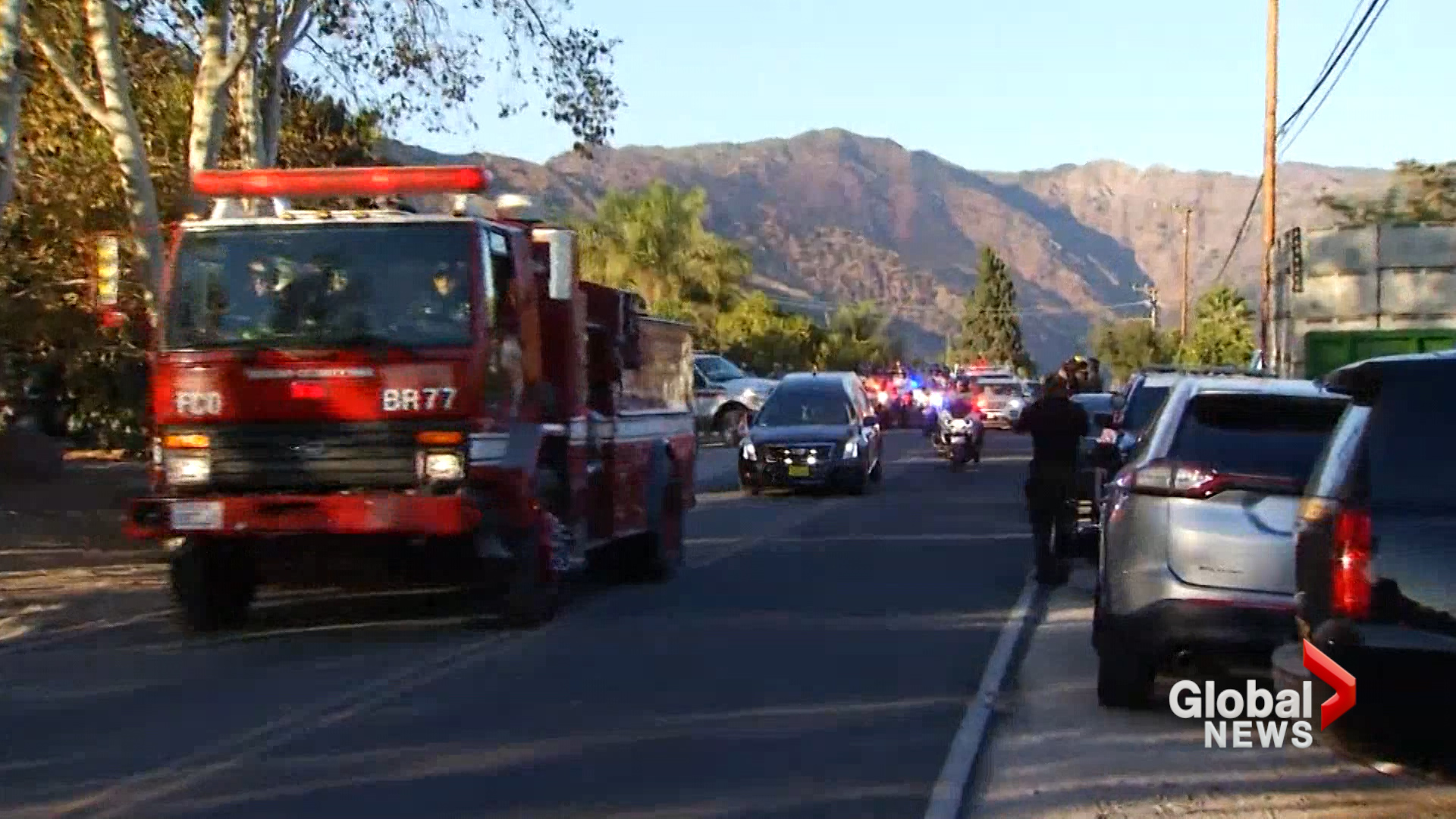 Cal Fire San Diego firefighter Cory Iverson dies battling Thomas Fire