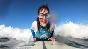 Blind Spanish surfer aims for world title