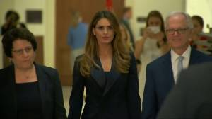 Former Trump aide Hope Hicks deflects questions on Capitol Hill