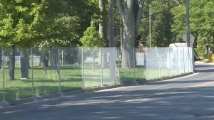 Fence at Breakwater Park not popular with residents and users