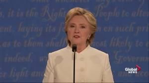 Presidential debate: 'I was monitoring Bin Laden raid, he was hosting Celebrity Apprentice': Hillary Clinton