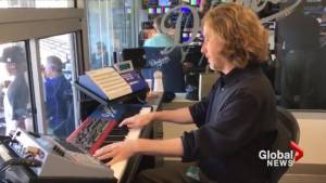 Linkin Park lead singer Chester Bennington honoured by Los Angeles Dodgers organist