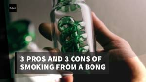 Cannabis IQ:  3 pros and cons of smoking Cannabis from a bong