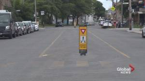 Residents call for a new and improved crosswalk at a busy NDG intersection (01:50)