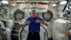 David Saint-Jacques on life in space