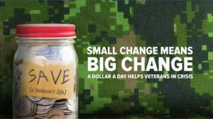 A Dollar a Day Helps a Veteran in Crisis