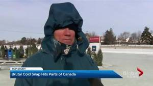 Deep freeze grips Eastern Canada