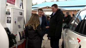Andrew Scheer speaks out about federal carbon tax in New Brunswick