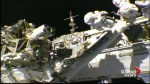 NASA conducts spacewalk to repair the Canadaarm