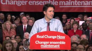 2015 Federal Election: Justin Trudeau – 'Our hard work is just beginning'
