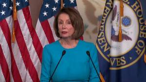 Pelosi says Congress has not approved war against Iran