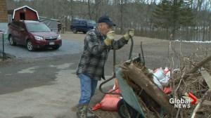 As flood waters in Saint John recede the cleanup begins