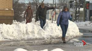 Halifax hit with first winter storm of 2016