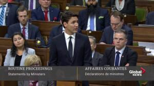 Full speech: Justin Trudeau says things must change in wake of New Zealand shootings