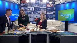 Local Food Blogger Palmer Nowak  shows us how to make easy and delicious holiday appetizers