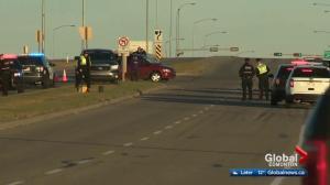 Woman killed in northwest Edmonton crash