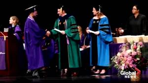 Man who started as NYU janitor graduates as nurse