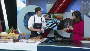 Calgary chef celebrates pork month with delicious dish