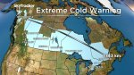 Temperatures plunge across much of Canada and U.S.