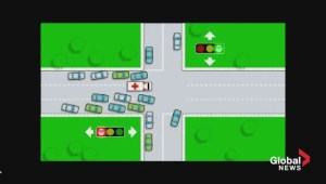 How to share the road when emergency vehicles approach
