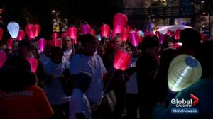 Light The Night Walk helps raise money for blood cancer research