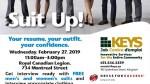 KEYS Job Centre is hosting the Suit Up Pop-up Boutique for both men and women