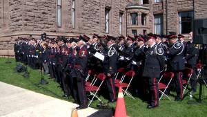Ontario's fallen police officers honoured in Toronto memorial