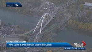 New Walterdale Bridge Fully Open
