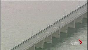 Champlain Ice Bridge open to cyclists