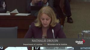 Nathalie Drouin says Wilson-Raybould instructed her not to discuss SNC-Lavalin with DPP