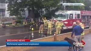 Explosion in Richmond condo complex