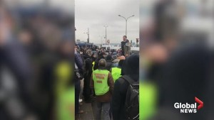 Yellow vest protesters  denounce Emmanuel Macron, media in 7th weekend of demonstrations