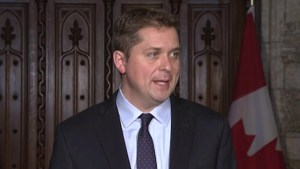 Trans Mountain purchase necessary due to Trudeau's 'uncertainty': Scheer
