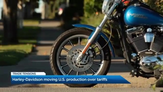 Trump encourages Harley-Davidson boycott if company moves production overseas: Twitter - National