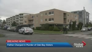 Oak Bay father charged with killing young daughters