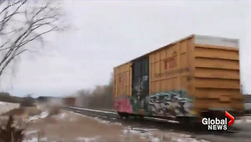 Freight train derailment cancels Ottawa-bound VIA trains