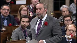 Mulcair presses Trudeau to stand up to anti-LGBTQ persecution in Chechnya