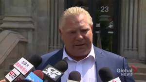 Doug Ford says he stands 'shoulder to shoulder' with Justin Trudeau following Trump tirade