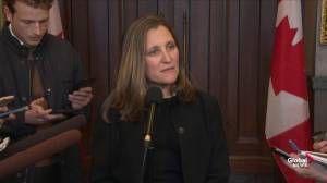 Freeland confident they'll be able to ratify CUSMA before House rises for summer