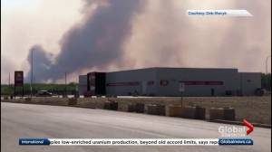 Evacuation order issued for High Level because of wildfire
