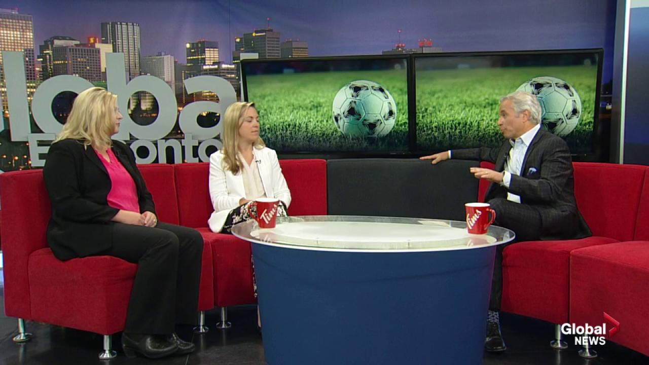 Soccer week wraps up in Edmonton with international friendly