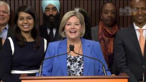 Andrea Horwath asked if she shares any common ground with Doug Ford