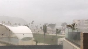 Hurricane Maria passes through Caribbean Island St Lucia
