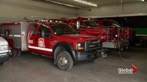 Rural Saskatchewan fire department offering rides to wedding guests
